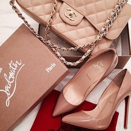 Chanel and Christian Louboutin