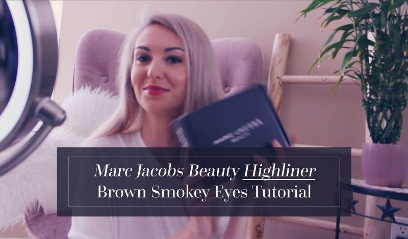 Marc Jacobs Beauty Highliner Brown Smokey Eyes Tutorial