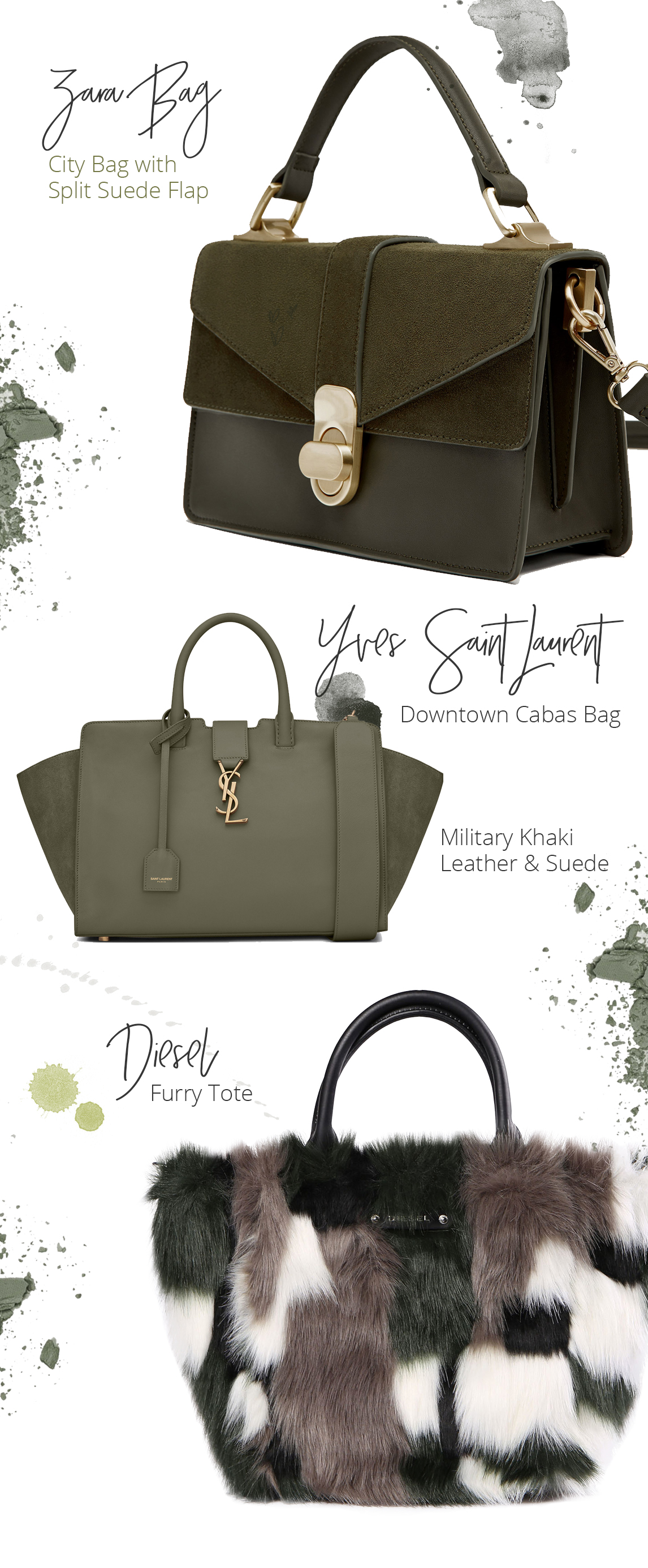 Olive Bags Style Unsettled