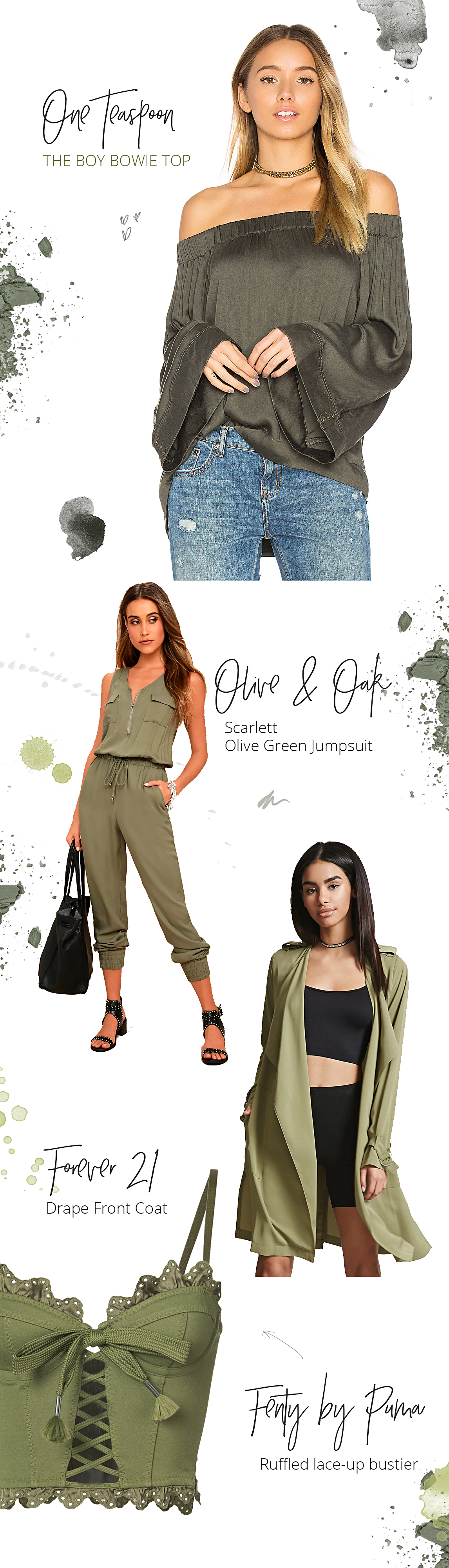 Olive fall edit clothing Style Unsettled