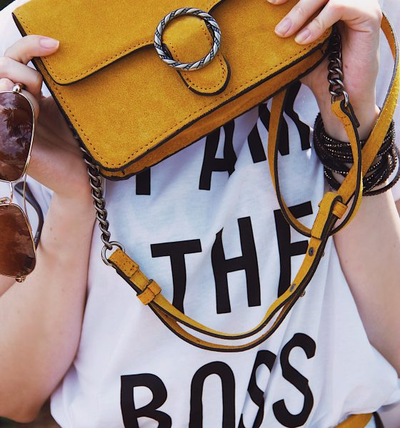 Being Boss: Ruffle Skirt and Graphic T-shirt