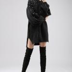 pearl sweater dress