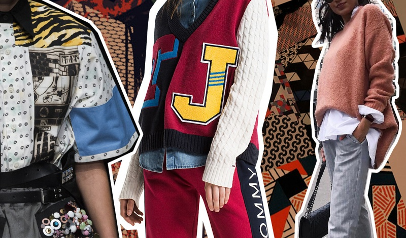 Trends of the Season: Print Clashing, Luxe Athleisure & Masculine Style