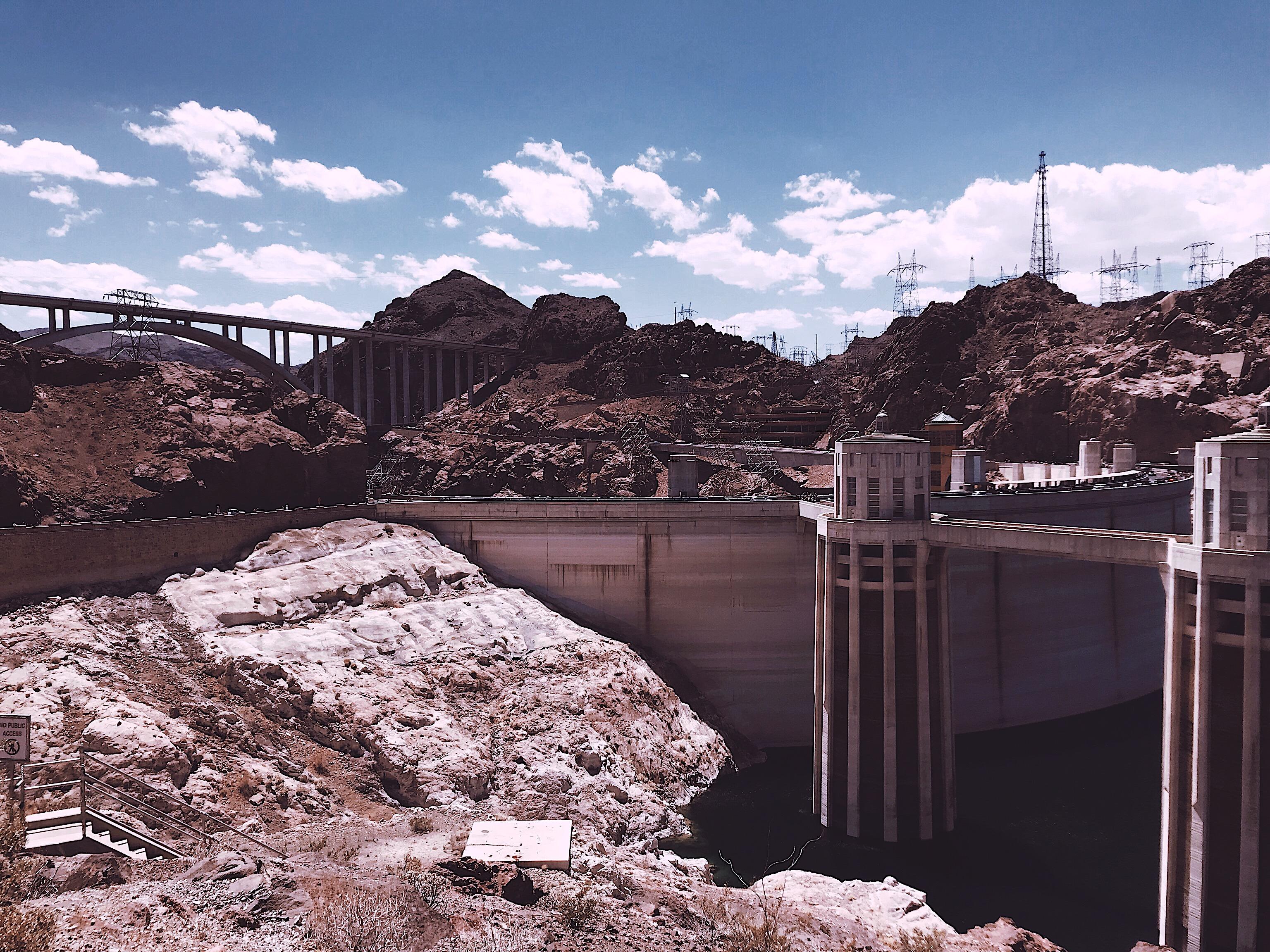 Hoover Dam Las Vegas Style Unsettled