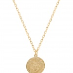 Martha calvo sacred heart shield necklace
