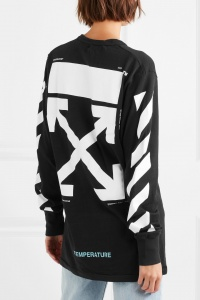 Off White Temperature Back Style Unsettled