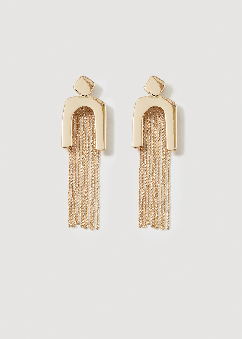Mango Slim chain earring