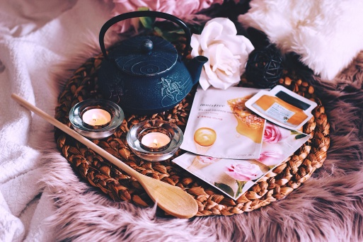 Nighttime routine Innisfree Mask Style Unsettled