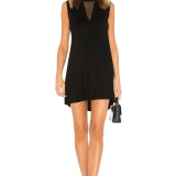 Black CALDER DRESS Michael Lauren