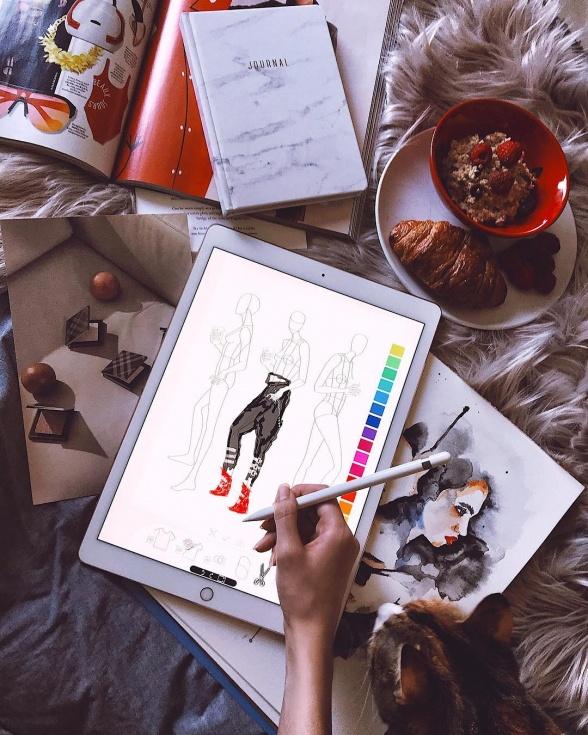 Creative Lifestyle Style Unsettled