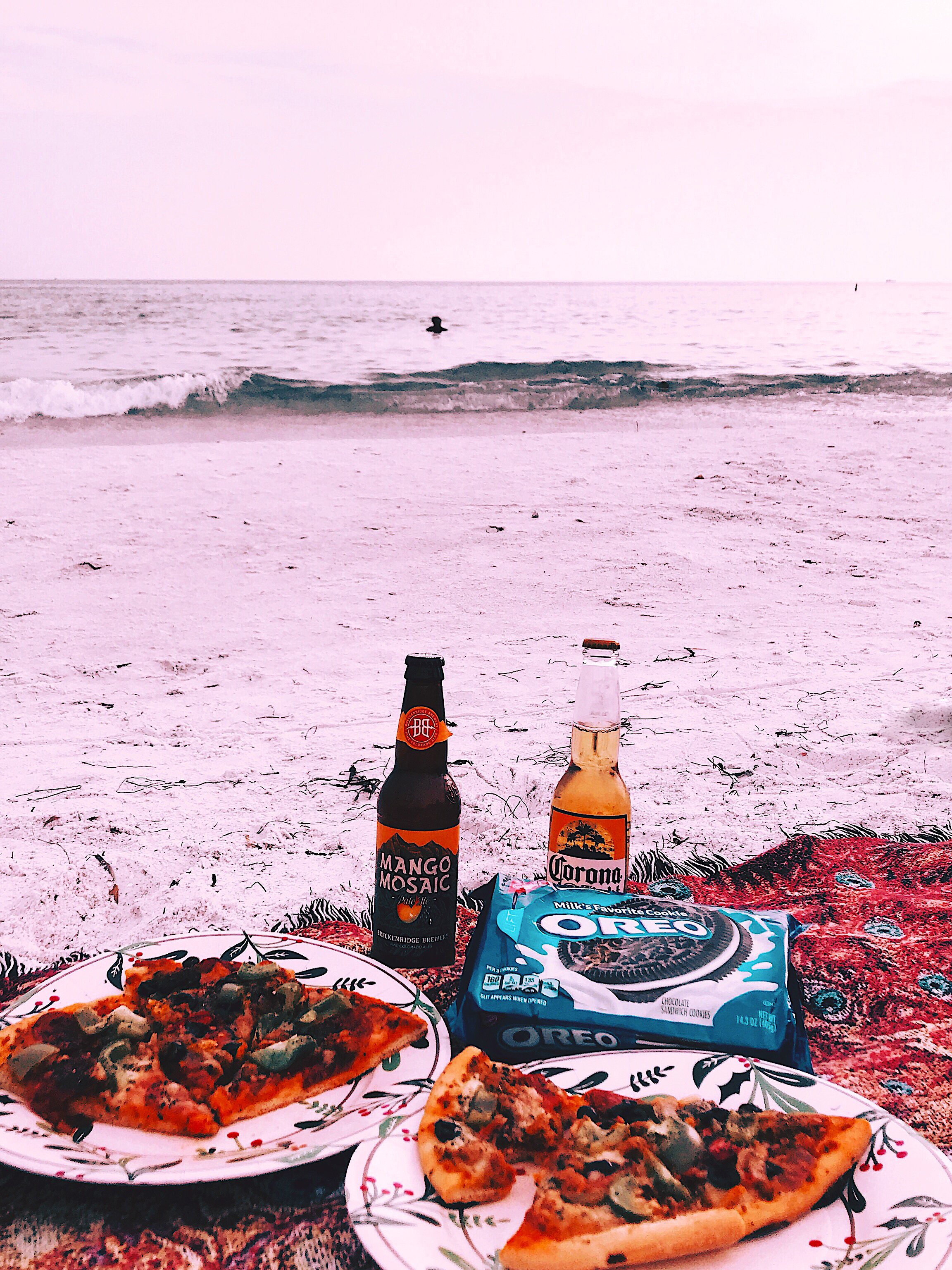 Beach Picnic Oreo Pizza Style Unsettled