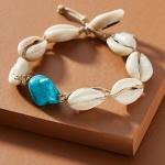 Dannijo Flounder Cowrie Shell Bracelet