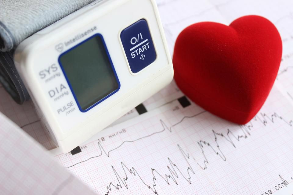 how stress affects heart disease and blood pressure