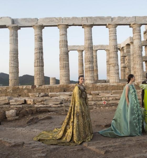 Mary Katrantzou Show in Athens   Spring Summer 2020